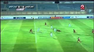 """هدف مصر الرابع في السودان """"المنتخب الأولمبي"""" .. شكري نجيب"""