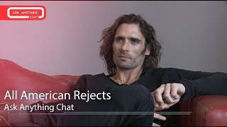 All American Rejects Talk About Sweat, Mario Lopez