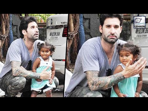 Sunny Leone's Daughter Nisha Playing With Father Daniel Weber | LehrenTV