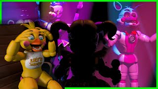 [SFM FNAF] Toy chica reacts to Sister location Trailer