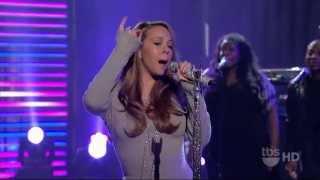 Mariah Carey ,HD,   It's A Wrap ,live, Lopez Tonight 2009 ,HD 1080p