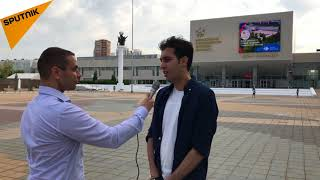 دانشجوی فارسی زبان دانشگاه دوستی ملل  در روسیه