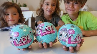 LOL Surprise New Eggs with Dolls from Toys R us