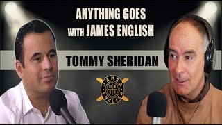 James English meets politician Tommy Sheridan on the anything goes podcast show.