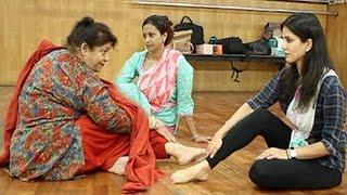 Saroj Khan Teaches Sunny How To Dance