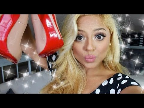 Unboxing my New Christian Louboutin (SO KATE in Nude )
