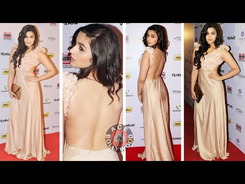 Alia Bhatt's Deep Backless Dress !Must Watch!