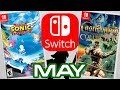 Top 10 Nintendo Switch Games Coming May 2019!