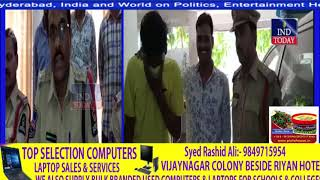 Attention Diversion Youth Arrested, 5 two-wheeler recovered | Habeebnagar Police