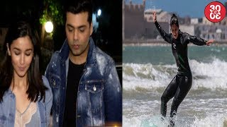 Bollywood Stars At A Birthday Party | Katrina Kaif Surfs Away In Morocco