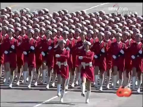 watch [English version] China's 60th National Day Military Parade - 1. Troop Formation 2/2