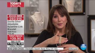 HSN | Sevilla Silver with Technibond Jewelry 01.19.2017 - 01 PM