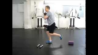 Skater Squat Progressions