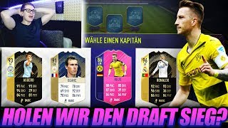 FIFA 18: KRASSES HYBRID MARCO REUS FUT DRAFT! Alle Siege?🔥🔥Ultimate Team - Draft Pack Opening