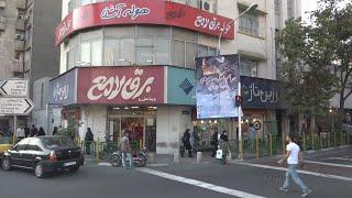 A ride driving around Tehran - Iran