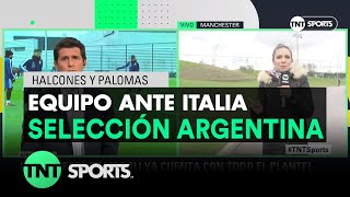 El equipo para enfrentar a Italia | Selección Argentina
