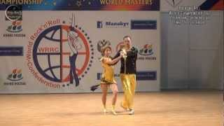 WRRC Rock´n´Roll World Championship 2012 (Place 1 - 3)