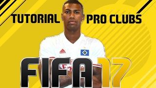 FIFA 17 - TUTORIAL FACE I Walace (Hamburgo) [Pro Clubs]
