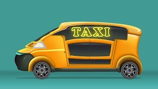 Kids TV Channel | Taxi | vehicle assembly for kids | cartoon videos for kids