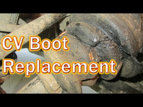 DIY Polaris Sportsman 500 CV Boot Replacement How to Replace a Rear Inner CV Boot on an ATV