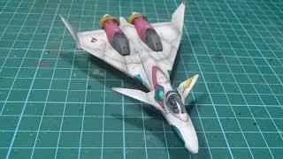 040: Log 01 : Macross  1/144 Valkyrie VF 11 MaxL- Part 1 Fighter mode