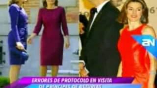Letizia Ortiz hace el ridículo