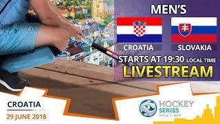 Croatia v Slovakia | 2018 Men's Hockey Series Open Zagreb | FULL MATCH LIVESTREAM