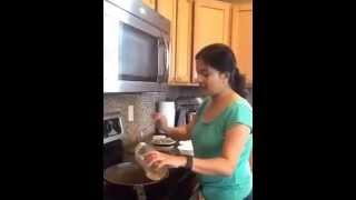 Bhindi Masala from frozen okra by Ads Kitchen