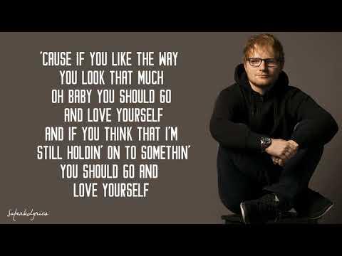 Ed Sheeran Love Yourself Lyrics