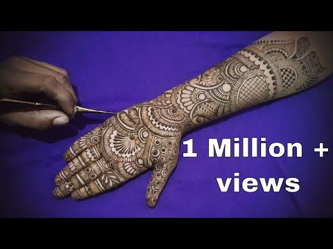 Xxx Mp4 Traditional Full Hand Bridal Henna Design ★ Mehndi Design Step By Step Tutorial With Explanation 10 3gp Sex