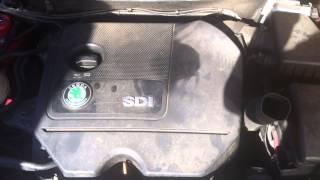 SKODA FABIA 1.9 SDI ENGINE CODE ASY FOR BREAKING AT GERMAN BITZ
