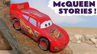 Disney Cars Toys McQueen Toy Stories Compilation with Hot Wheels Avengers Family Fun TT4U