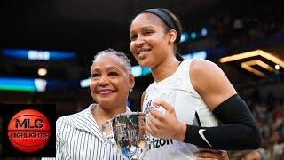 Maya Moore Full MVP Speech | 2018 WNBA All-Star Game