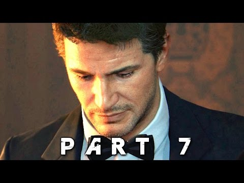Uncharted 4 A Thief's End Walkthrough Gameplay Part 7 - Auction (PS4)