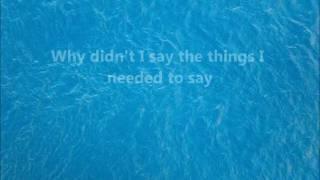 Kevin Sharpe - Nobody knows it but me LYRICS