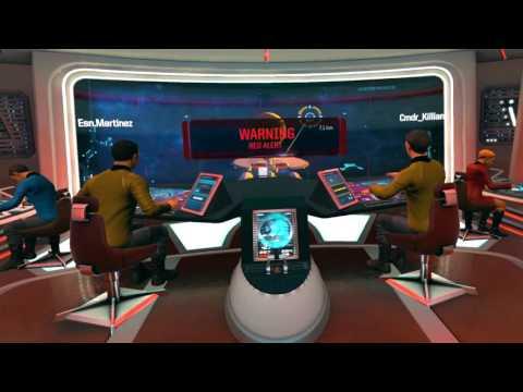 Star Trek: Bridge Crew VR game