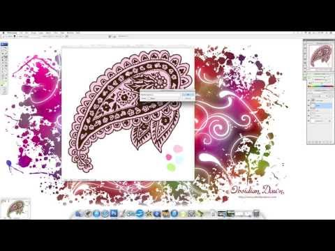 Multiple Colors with Photoshop Brushes Tutorial