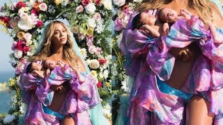 Beyonce BREAKS Internet With Twins Pictures And Confirms Their Names!!