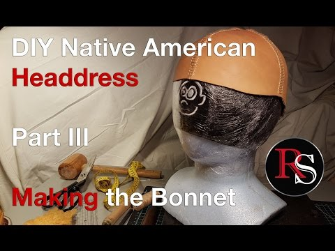Part III - Making the Bonnet - DIY Native American Headdress / War Bonnet