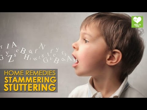 Home Remedy To Cure Stammering or Stuttering | Health Tips