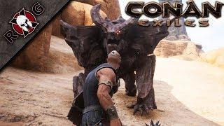 CONAN EXILES | THE PURGE! DEFENDING THE BASE! Ep 3