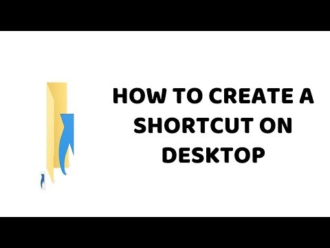 How To Create A Shortcut on Desktop   PC & Laptop Easy Tutorials In Hindi