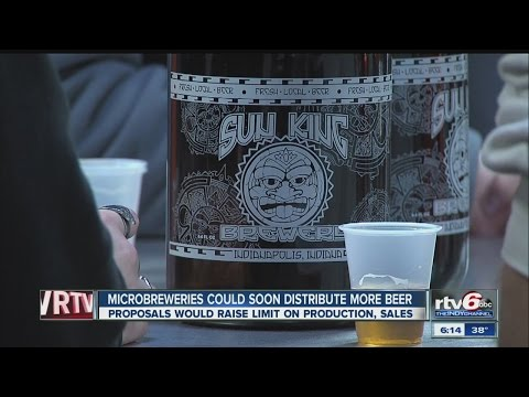 Proposals would raise bar for craft beer distribution