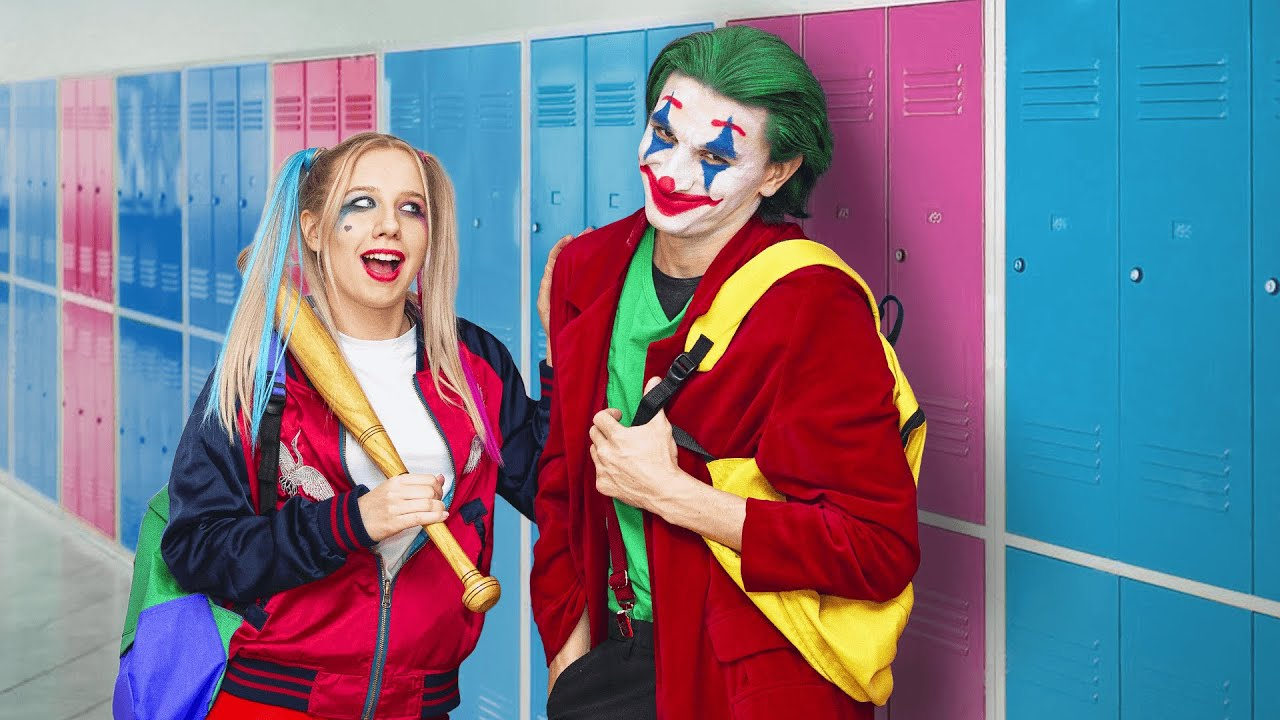 Superheroes at College  18 Funny Situations