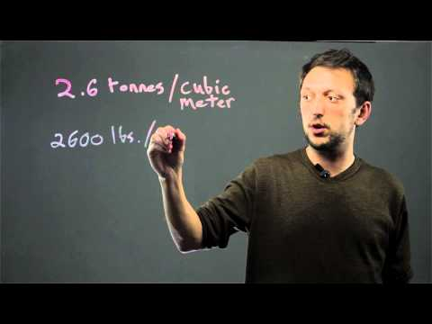 How to Convert Asphalt Tons to Cubic Metres : Tools for Math Success