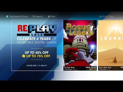 PS4 Huge Replay Sale! With Discount On Digital Games