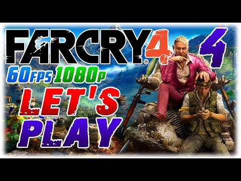 Far Cry 4 Let's Play #4 in 1080p 60fps; DRUNK OLD GRANDMA (