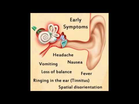 Inner Ear Infection Symptoms