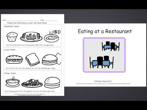 Restaurant Community Unit Product Preview - Special Education