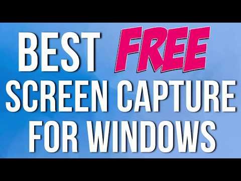 Best Free Screen Capture Program